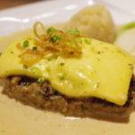 嵐にしやがれで紹介された!市ヶ谷にある洋食屋らいむらいと「チーズハンバーグ」